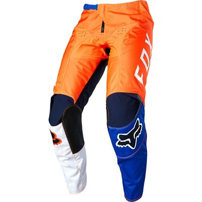 CALÇA FOX 180 LOVL ORANGE/BLUE
