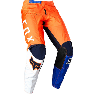 CALÇA FOX 180 LOVL ORANGE/BLUE1