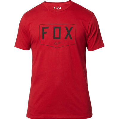 CAMISETA FOX SHIELD RED1