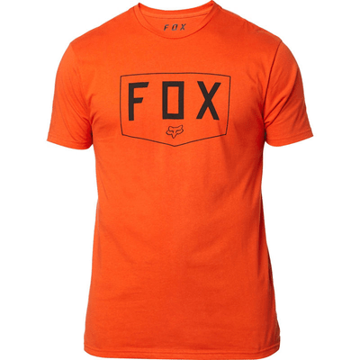 CAMISETA FOX SHIELD ORANGE1