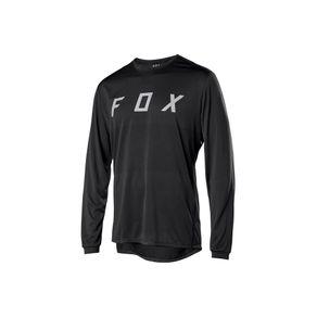 Camisa-para-Ciclismo-RANGER-LS-FOX-JERSEYBLK