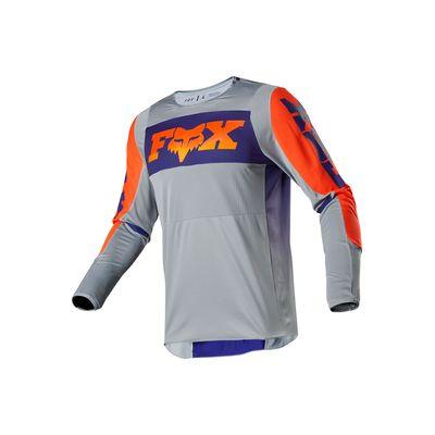 Camisa-para-Motocross-360-LINC-CINZA-LARANJA