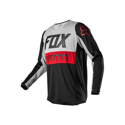 Camisa-de-Motocross-180-FYCE-CINZA